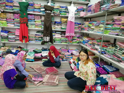 Tempat Shopping Murah Di Bandung Rumah Kain Sulam M Collection