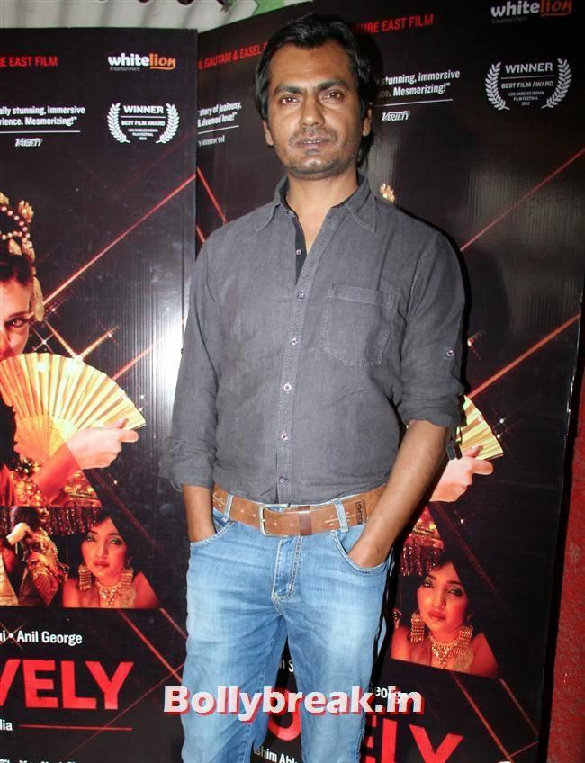 Nawazuddin Siddiqui, Niharika Singh at Miss Lovely Movie Media Interactions