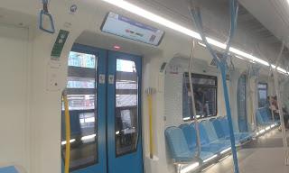 Pengalaman Menaiki MRT