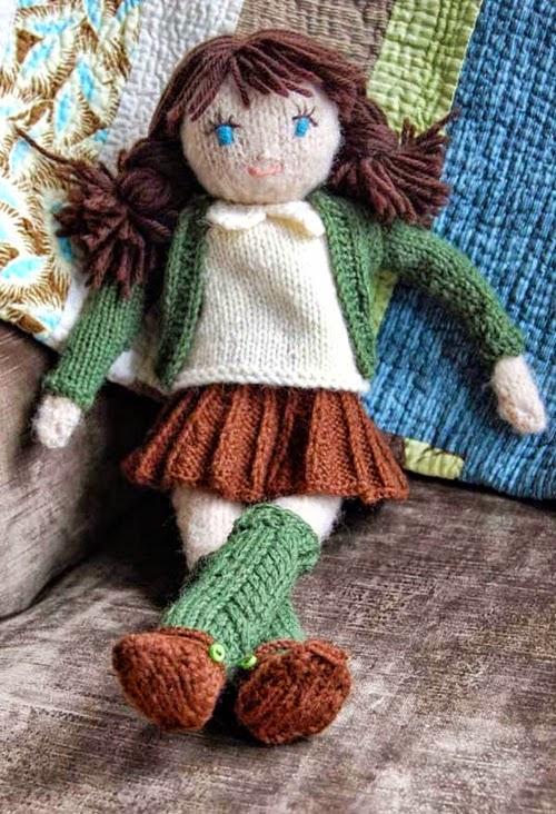 Fabuleux Agenda di Margherita: Bamboline di lana lavorate a maglia HU73