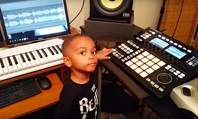 4 year old music producer phenom One Sock from North Carolina. He got that name as a result of him always taking off one sock as an infant and still does it until this day. This is a journey with him through his musical process. Jordan is also learning piano, and guitar. His ultimate love is production.