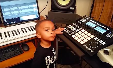 4 Jähriger Producer 'One Sock' rockt die MPC - Boom bappin'