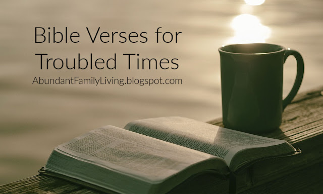 Bible Verses for Troubled Times
