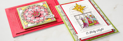 9 Illuminated Christmas Stained Glass Projects ~ 2018 Stampin' Up! Holiday Catalog