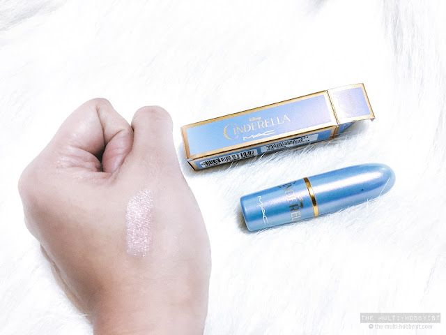 MAC Cosmetics Cinderella lipstick in Royal Ball review and swatches