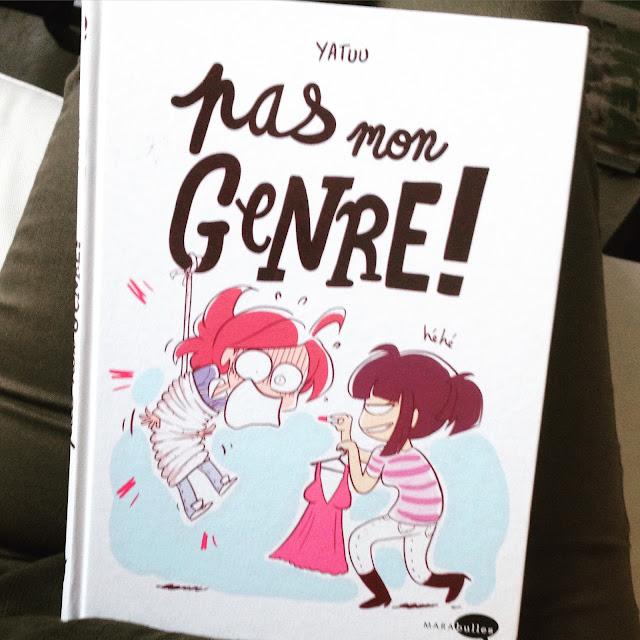 Chronique littéraire Pas mon genre par Mally's Books