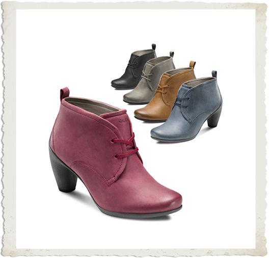 ECCO scarpe stringare colorate