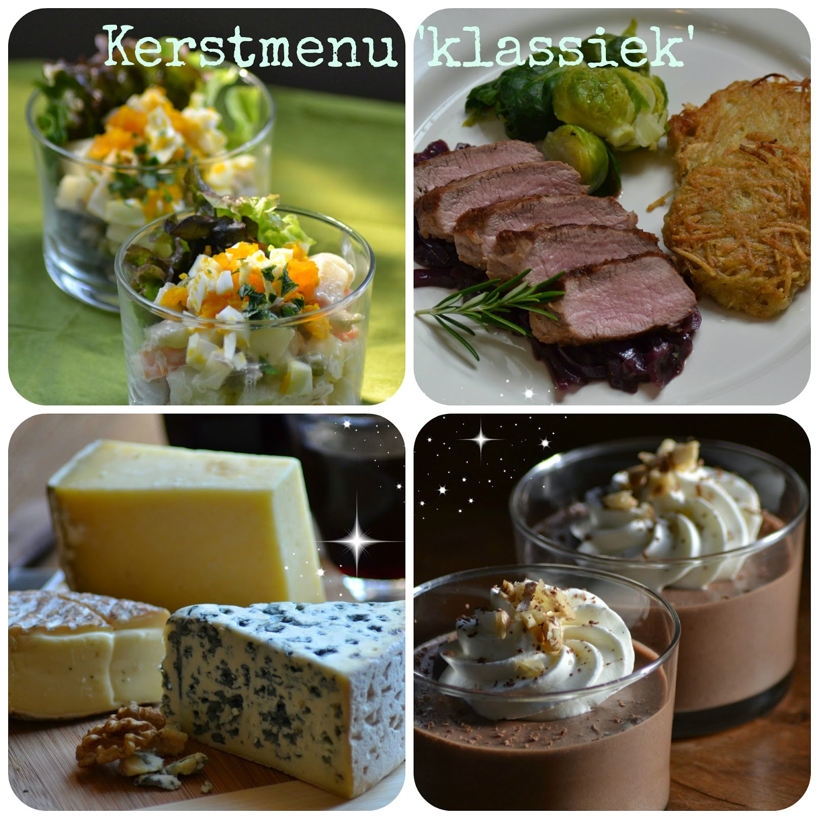Kerstmenu 'klassiek'