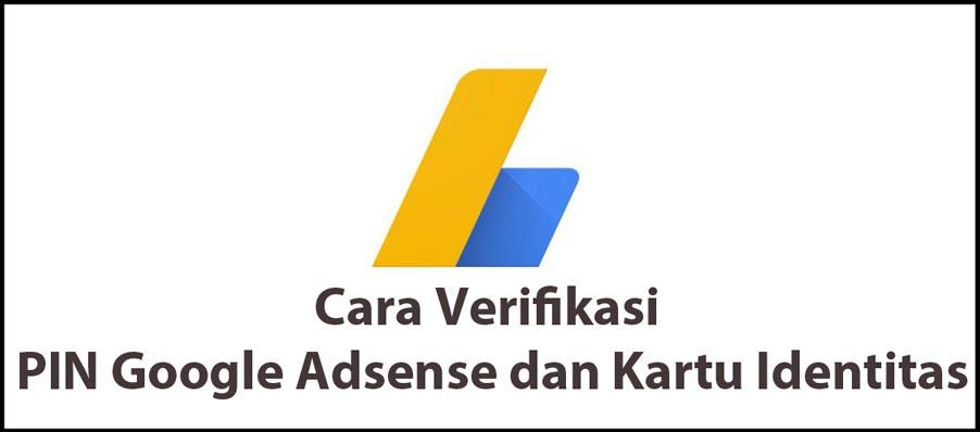Verifikasi PIN Google Adsense