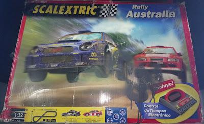 Circuitos: Scalextric Rally Australia Tecnitoys