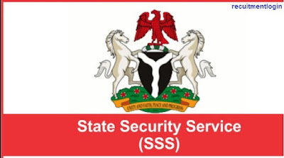 2018 SSS Recruitment page - (State Security Service) Form Portal