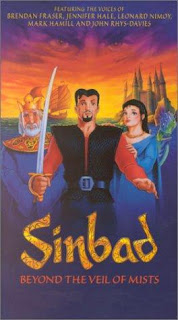 Sinbad Beyond the Veil of Mists 2000 Hindi Dual Audio DVDRip [260MB]