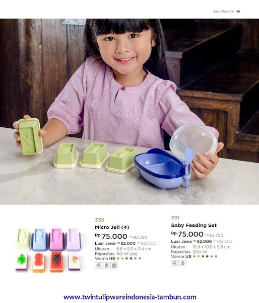 Baby Feeding Set, Micro Jell