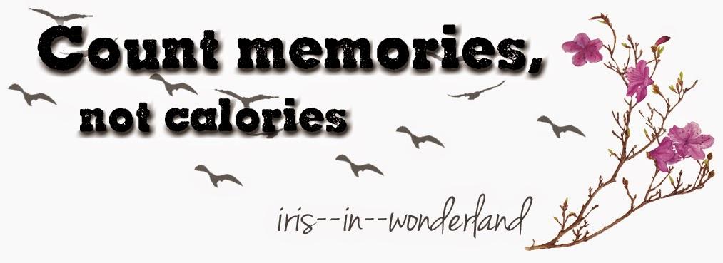 Count memories, not calories: Have a happy monday