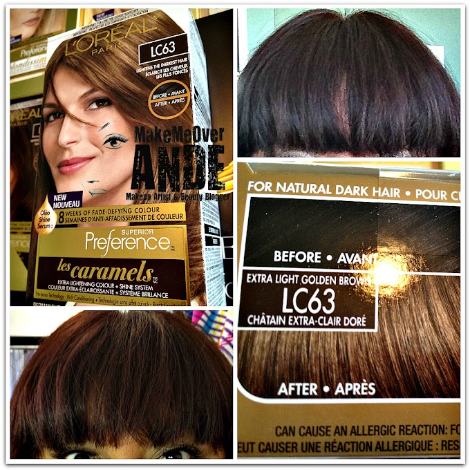 L'OREAL PARIS Les Caramels Hair Color