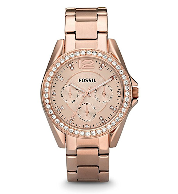 Amazon: Fossil Riley Watch only $55 (reg $135) + Free Shipping!