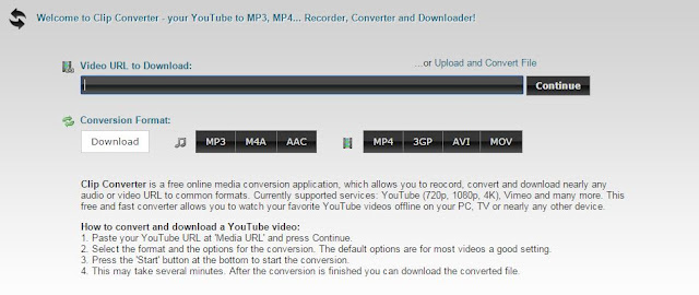 clipconverter best free online converter to convert mp4 flv avi files to mp3 without any software