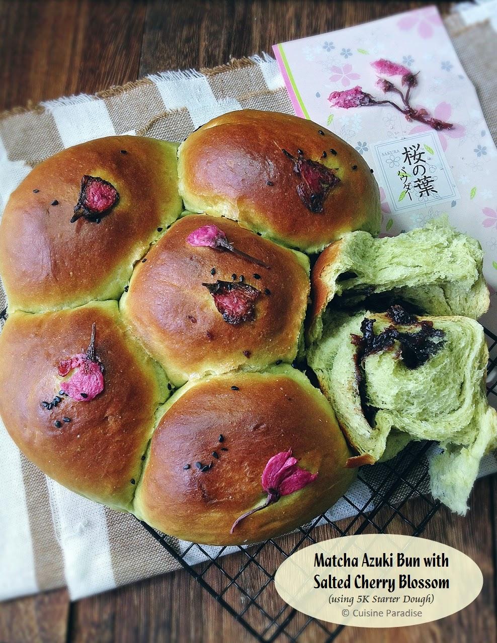 bread recipe matcha