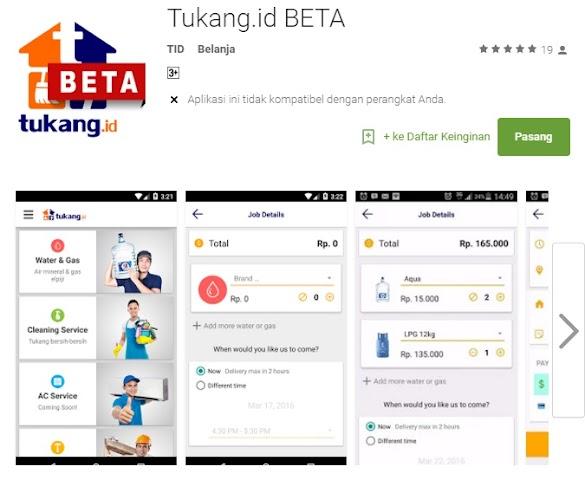 Wow Canggih Sekarang Praktis Pesan Aqua Galon bisa pakai Aplikasi Android