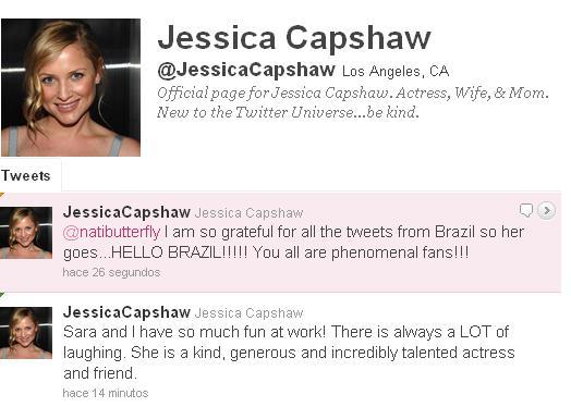 """Era uma vez Jessica Capshaw em """"Hello Brazil""""... ~ We Love ..."""