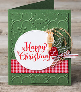 Stampin' Up! Oh, What Fun Happy Christmas Card
