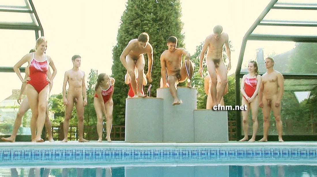 Naked swim team boys gay twink xxx hoyt gets a spanking fuck