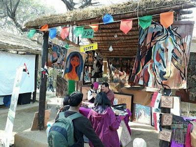 """الفنون الشعبية والحرف التقليدية المصرية فى مهرجان """"سوراجوكوندا"""" بالهند"""