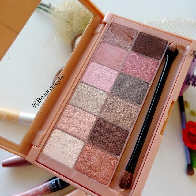 Maybelline, far paleti, makyaj blogu, düğün makyajı, pastel far,