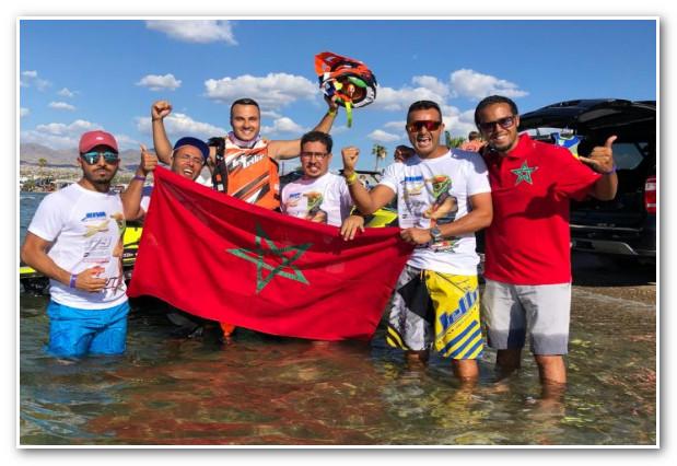 الرماح أول مغربي يحرز لقب بطولة العالم للجيت سكي بأمريكا
