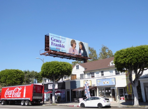 Grace Frankie 2017 Emmy FYC billboard