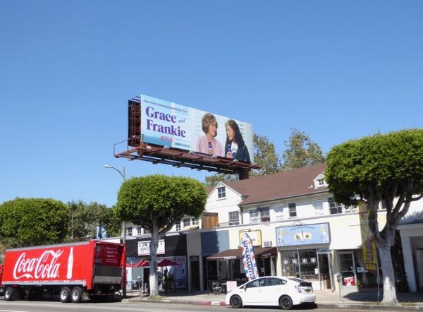 Grace Frankie 2017 Emmy FYC billboard
