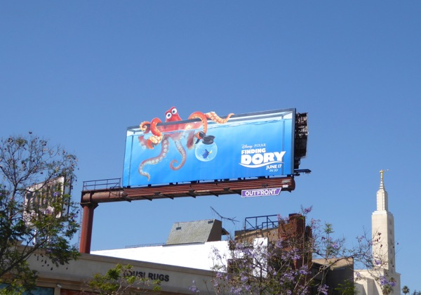 Finding Dory Octopus billboard