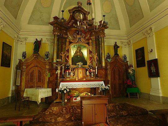 Stacja 43 - Kaplica Matki Boskiej Bolesnej.