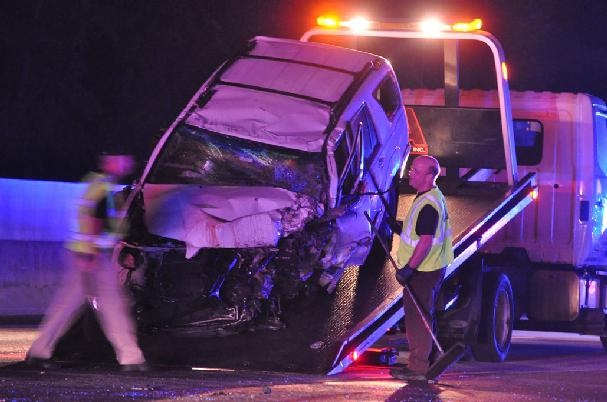 One dead, one hurt in Ga  400 wreck caused by wrong-way driver