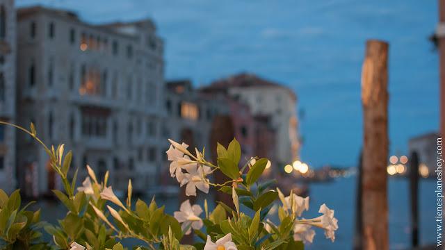 VIaje Venecia Italia cenar vistas