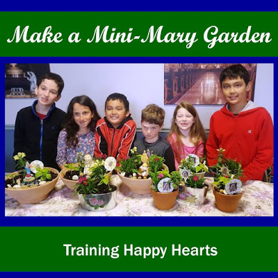 Making Mary Gardens with Friends