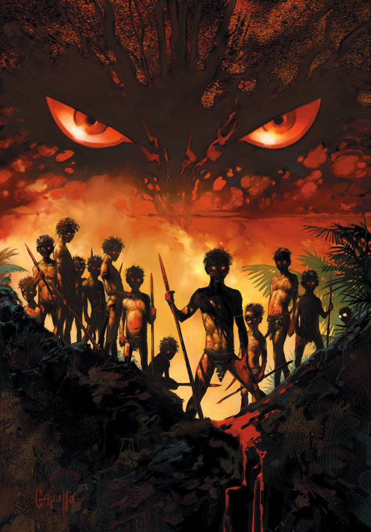 Good and evil in human nature in lord of the flies by william golding