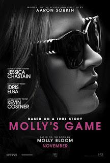 Mollys game, película, cartelera, nos vamos al cine,