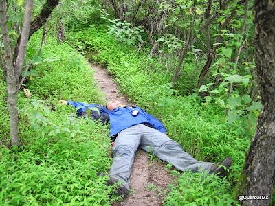 Uno se cansa a a veces cuando subes cerros