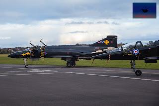 RAF McDonnell Douglas Phantom Black Mike SEPECAT Jaguar Cosford
