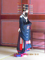 Traditional costume of Korean Kings and repository of Spirit Tablets, Jongmyo Royal Shrine, Seoul