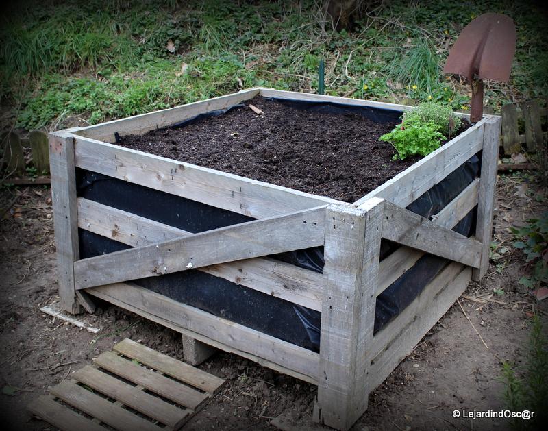 Le jardin d 39 oscar id e potager ou jardin d 39 exp rience - Jardin potager en hauteur ...