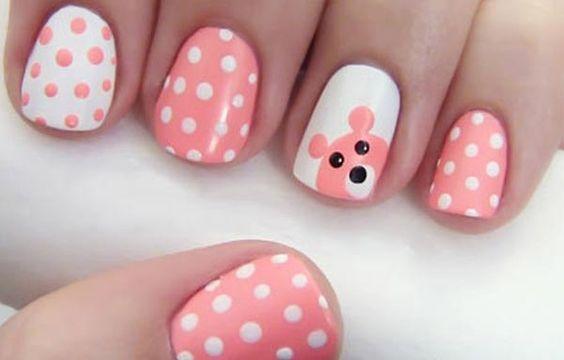 16 Diseños de Uñas Kawaii y Cute