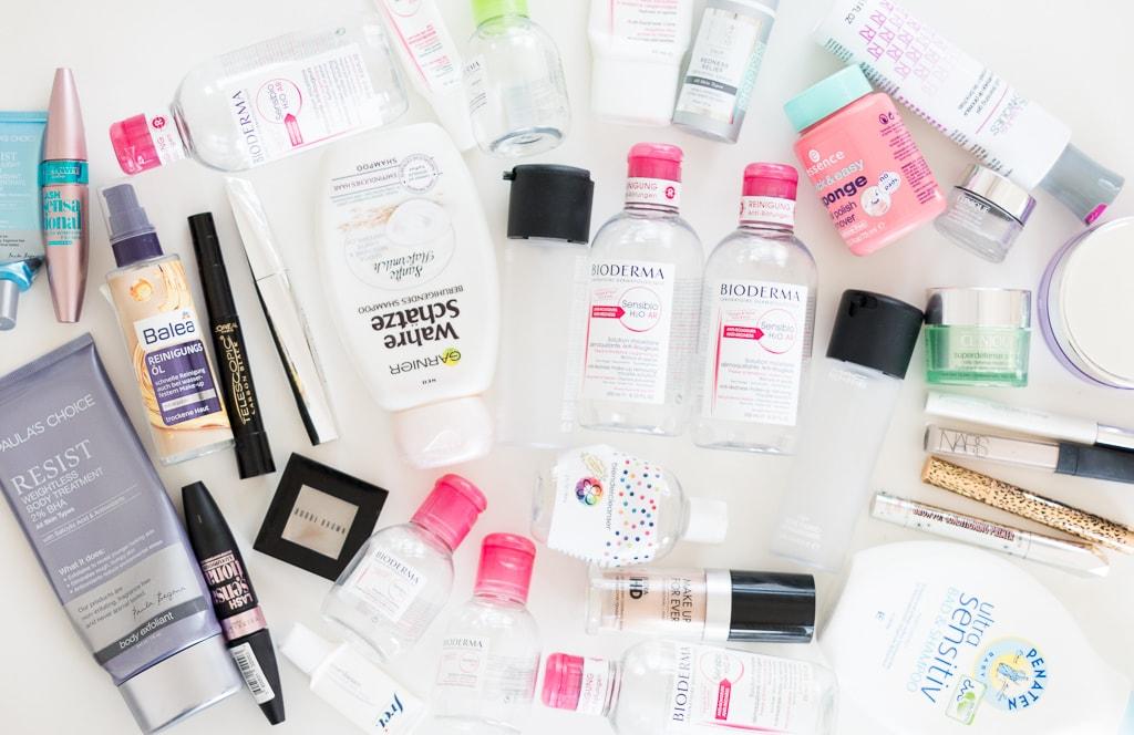 Aufgebrauchte Kosmetikprodukte Juni 2017