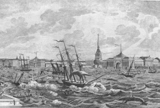 Banjir St. Petersburg, 1824