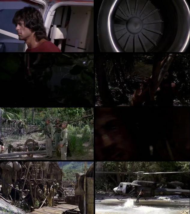 Rambo First Blood II (1985) Dual Audio Hindi 720p BRRip
