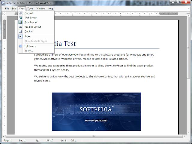 تحميل برنامج فتح ملفات وورد للكمبيوتر مجانا Microsoft Office Word Viewer 11