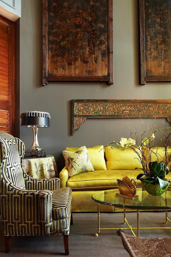 A Perfect Gray Charcoal Gray Walls Livingrooms