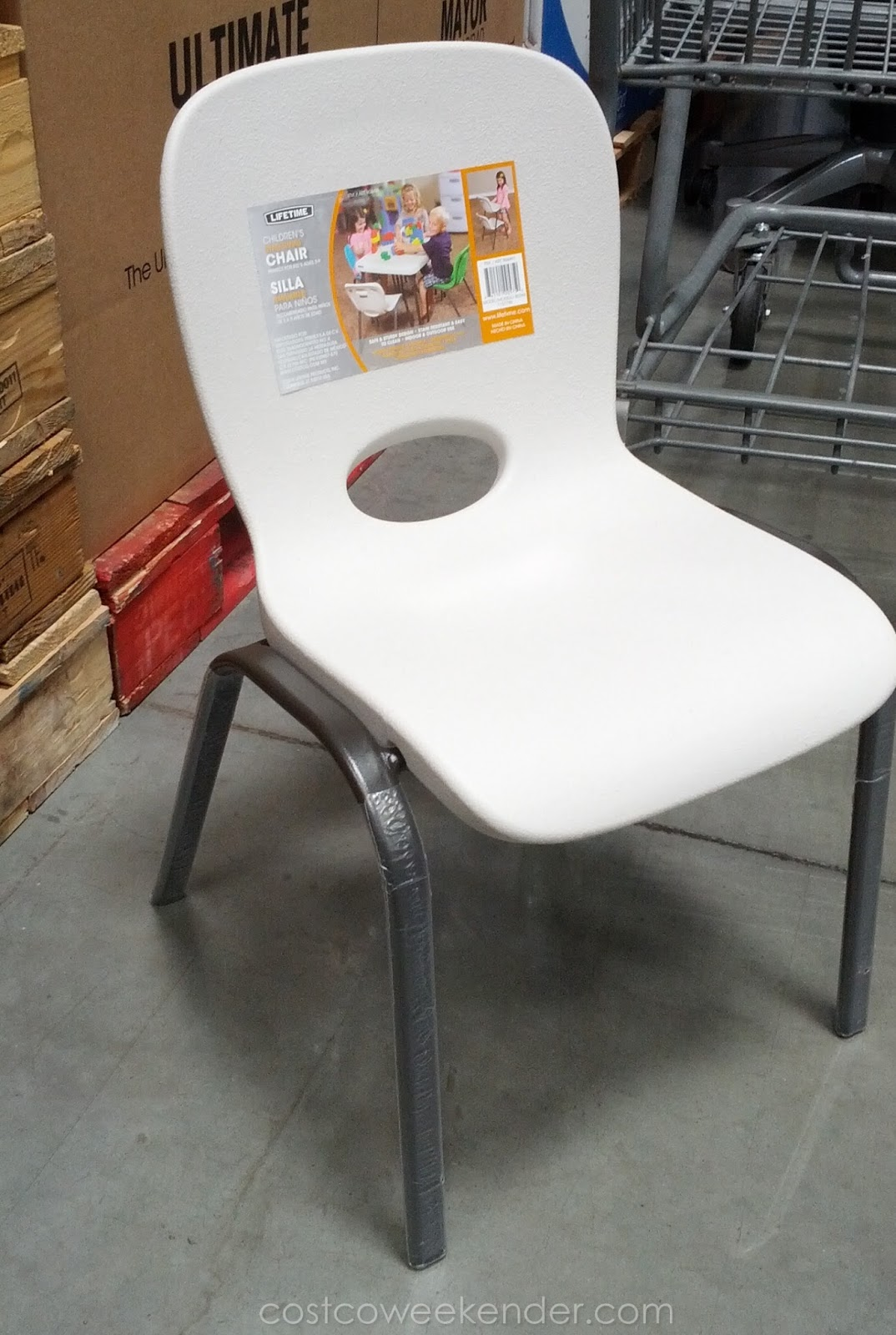Lifetime Chair Lifetime Children S Stacking Chair Costco Weekender