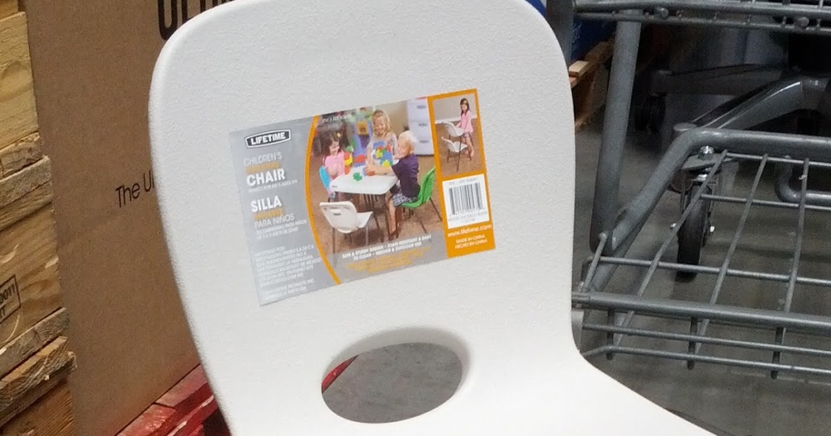 Lifetime Children S Stacking Chair Costco Weekender